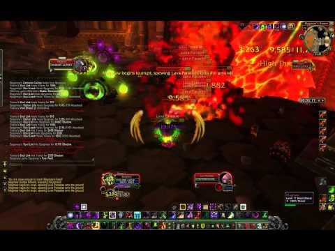 MoP beta, Warlock solo Magmaw (видео)