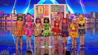Video Britain's Got Talent 2018 Cartoon Heroes Full Audition S12E05 MP3, 3GP, MP4, WEBM, AVI, FLV Juni 2018
