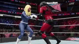 WWE 2K18 She Rulk Vs Invisible Woman