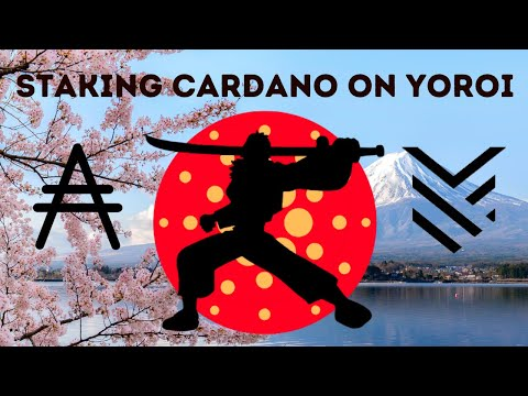 Staking Cardano Using Yoroi Wallet, ADA Tutorial, Passive Income Cryptocurrency