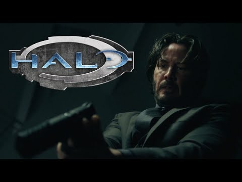 John Wick but with Halo sound effects видео