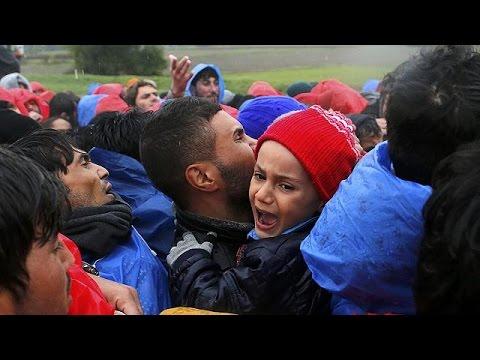 Προσφυγική κρίση: Ένταση στα σύνορα Κροατίας – Σλοβενίας