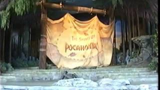 WALT DISNEY WORLD MGM STUDIOS SPIRIT OF POCAHANTAS LIVE STAGE SHOW 12/9/95