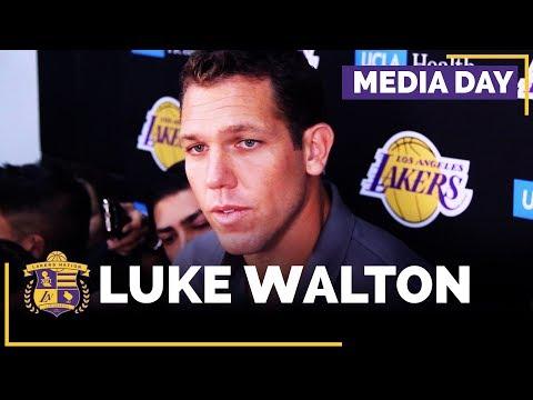 Video: Lakers Media Day: Luke Walton (FULL INTERVIEW)