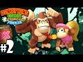 Donkey Kong Country Tropical Freeze: Co-Op Dixie Copter PART 2 (Wii U HD Gameplay Walkthrough Coop)
