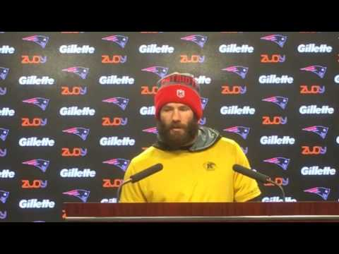 Julian Edelman shares his advice for younger players in AFC Championship game
