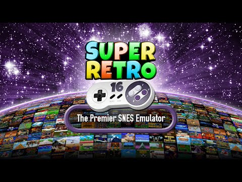 Video of SuperRetro16 Lite (SNES)