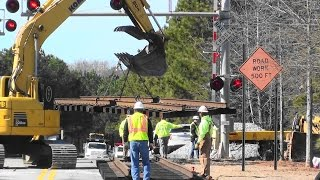 Mcdonough (GA) United States  City pictures : NS 118 Derailment in McDonough, Ga. 1/6/15
