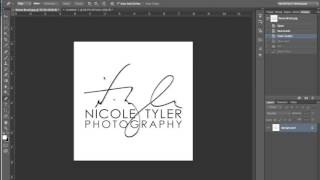 How to Convert Your Logo to a Brush in Photoshop for Easy Watermarking