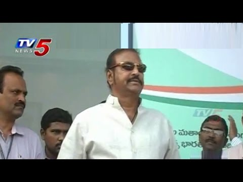 Mohanbabu Swachh Bharat at Tirupati : TV5 News