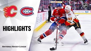 NHL Highlights   Flames @ Canadiens 1/13/20