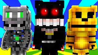 FNAF World - NIGHTMARE! (Minecraft Roleplay) Night 54