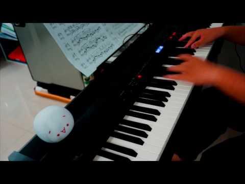 Akane Sasu-Natsume Yuujinchou GO ED [Piano + sheet] (видео)