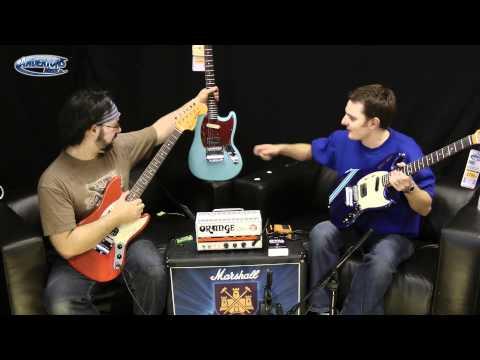 New Kurt Cobain Fender Mustang Guitars at Andertons