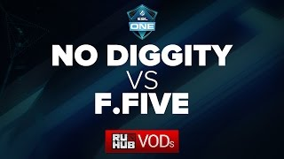 Fantastic Five vs DiG, game 1
