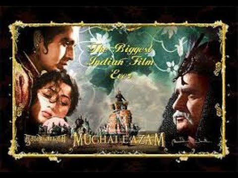 Mughal E Azam 1960 Full Hindi Movie In Color | Dilip Kumar | Madhubala