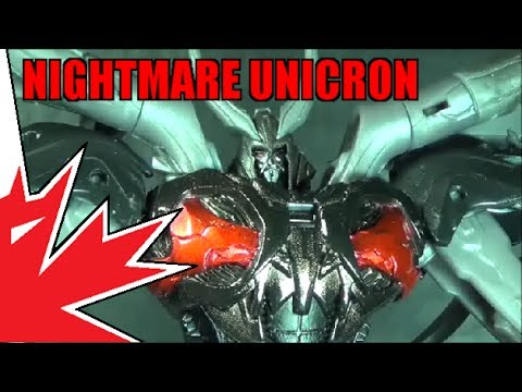 unicron - Nightmare Unicron is a darker and scarier repaint of the AM Gaia Unicron and was featured as a store exclusive. This is the even more rare version of the mol...