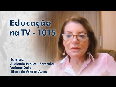 Audiência Pública - Sorocaba  - Professora Bebel | Variante Delta - Miguel Nicolelis | Riscos da Volta às Aulas - Profa. Dra. Lorena Barberia