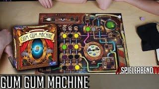 SpieleabendTV stellt euch Gum Gum Machine vor.► Amazon: http://amzn.to/2g6Bv130:00 Regeln11:13 Spiel38:19 FazitFacebook: www.facebook.com/spieleabendtv----------------------------------------------------Wenn euch unsere Videos gefallen, dann freuen wir uns auf ein weiteres Abo. =) Wenn nicht, dann könnt Ihr uns den Grund gerne mitteilen.www.spieleabendtv.de