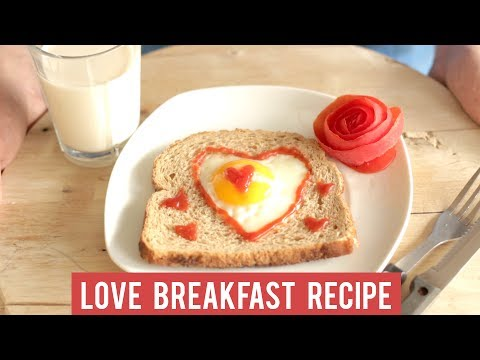 Enjoy your heart-shaped egg-in-toast, honey!