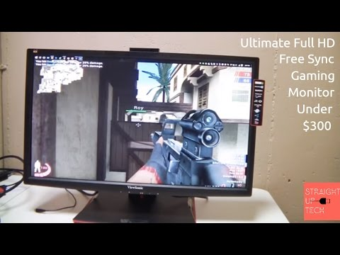 ViewSonic XG2401 Review 144hz 1080P Gaming Monitor Review - Gaming Monitor on a Budget