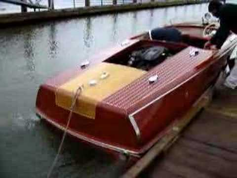 1951 Chris Craft In The Water