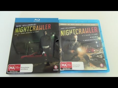 Nightcrawler Blu-Ray Unboxing