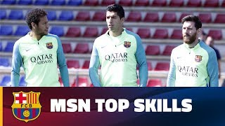 MSN's best moments at training session