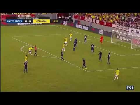 Gol de James Rodríguez usa vs Colombia 0-1