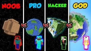 Video Minecraft NOOB vs. PRO vs. HACKER vs. GOD: PLANET in Minecraft! (Animation) MP3, 3GP, MP4, WEBM, AVI, FLV Februari 2019