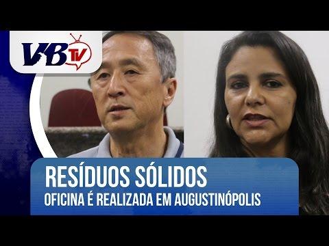 VBTv | Oficina de Res�duos s�lidos � realizada em Augustin�polis