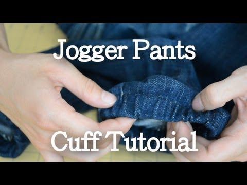 Video DIY: Jogger Pants Cuff Tutorial | KAD Customs #10 download in MP3, 3GP, MP4, WEBM, AVI, FLV January 2017