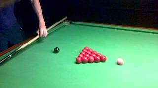 Snooker Guide- Right Hand Side On Cue-ball