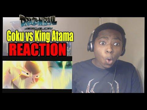 PERFECT SSJ4!! Goku vs King Atama DragonBall Absalon REACTION