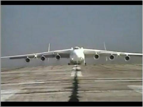 ANTONOV AN225 - O Maior Avião do Mundo.