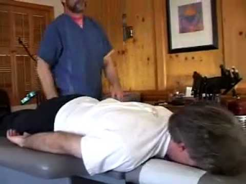 Adjustments - This video shows how chiropractic adjustments are performed by Dr. Stephen R. Gunter, DC. It is an actual office visit and was posted to promote dialogue. Fo...