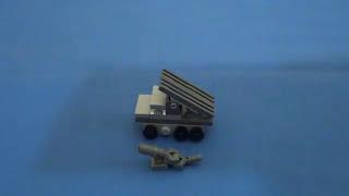 Micro Brick Battle Katyusha BM-13n instructions