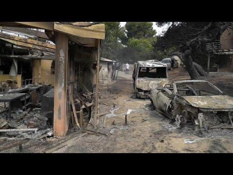 Griechenland: Erste Klagen nach Waldbränden wegen Sch ...