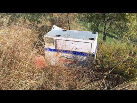 Tortoreto, eternit e medicinali: il cimitero dei rifiuti in via Vascello FOTO