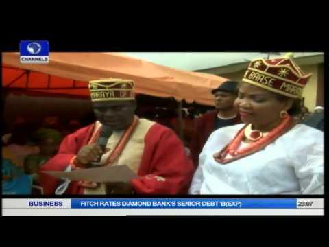 Metrofile:Patrick Anegbe And Wife Honoured In Otta Ogun State