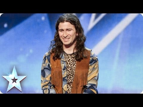 joseph - See more from Britain's Got Talent at http://itv.com/talent Luke Joseph of Leicester performs an eye-opening, improvised dance routine. If he's sexy, the Jud...