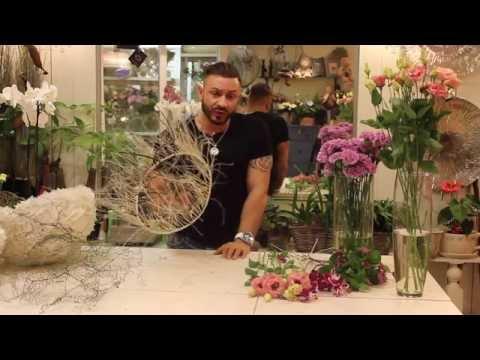Мастер класс флористики.видео
