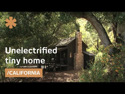 simple living - Seven years ago Diana and Michael Lorence moved to a 12-foot-square home without electricity in the coastal mountains of Northern California. They're not ba...