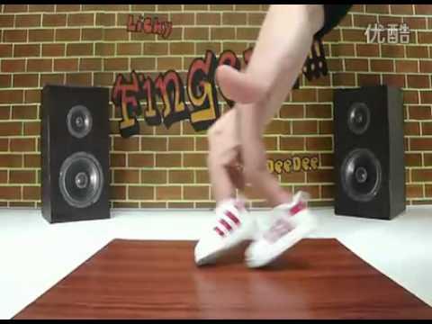 街舞看不夠嗎?手指街舞超有創意!