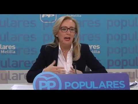 """Dueñas presenta las líneas básicas de la Ponencia """"Melilla y su Sociedad"""""""