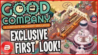 Building a Robot Manufacturing Empire! - Good Company Exclusive Look #1