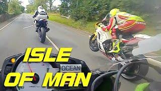 Wyścigi dla największych twardzieli. Nagranie z przejazdu na wyspie Man z 2019 roku