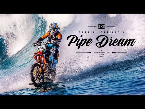 Amazing Dirt Bike Surfing Video