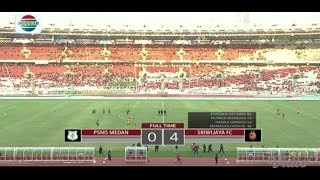 Video PSMS Medan (0) vs Sriwijaya FC (4) - Highlight Final Juara 3 Piala Presiden 2018 MP3, 3GP, MP4, WEBM, AVI, FLV Januari 2019