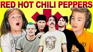 Reaksi Anak-Anak Mendengar Red Hot Chili Peppers